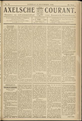 Axelsche Courant 1925-12-15
