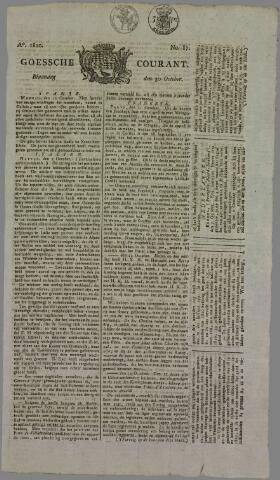 Goessche Courant 1820-10-30