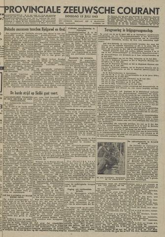 Provinciale Zeeuwse Courant 1943-07-13