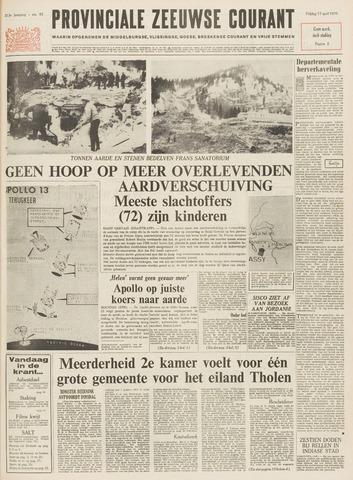 Provinciale Zeeuwse Courant 1970-04-17