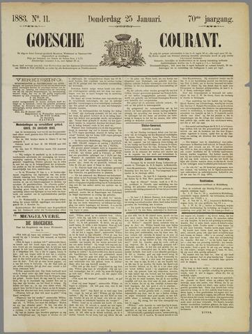 Goessche Courant 1883-01-25