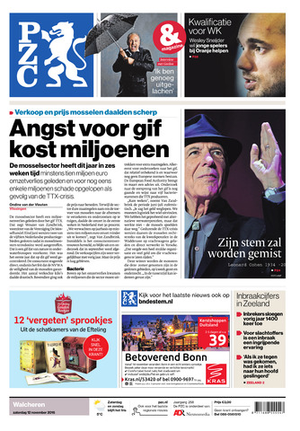 Provinciale Zeeuwse Courant 2016-11-12