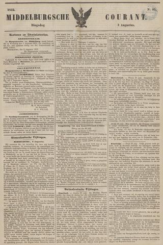 Middelburgsche Courant 1852-08-03