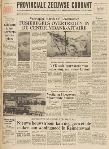 Provinciale Zeeuwse Courant 1970-08-21