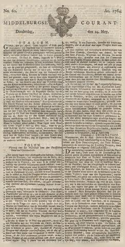 Middelburgsche Courant 1764-05-24