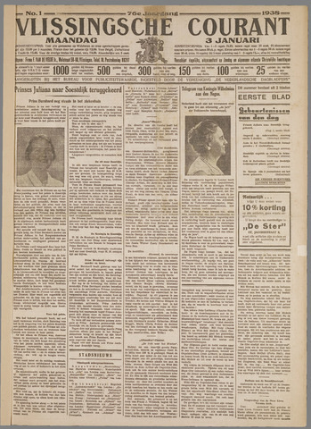 Vlissingse Courant 1938