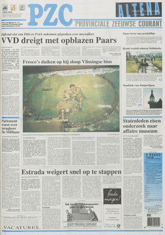 Provinciale Zeeuwse Courant 2001-01-20