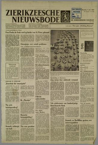 Zierikzeesche Nieuwsbode 1963-07-01