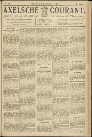 Axelsche Courant 1926-01-29
