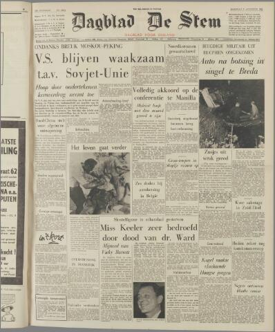 de Stem 1963-08-05
