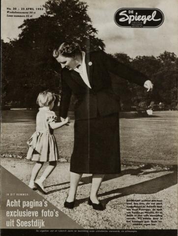 Watersnood documentatie 1953 - tijdschriften 1953-04-25