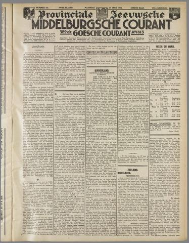 Middelburgsche Courant 1934-04-30