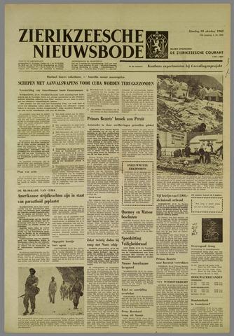 Zierikzeesche Nieuwsbode 1962-10-23