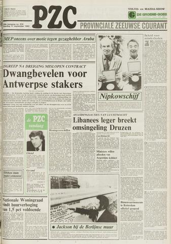 Provinciale Zeeuwse Courant 1983-09-17