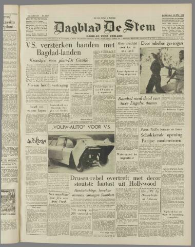 de Stem 1958-07-29