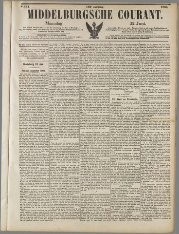 Middelburgsche Courant 1903-06-22
