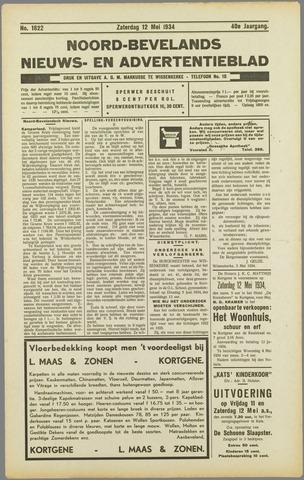 Noord-Bevelands Nieuws- en advertentieblad 1934-05-12