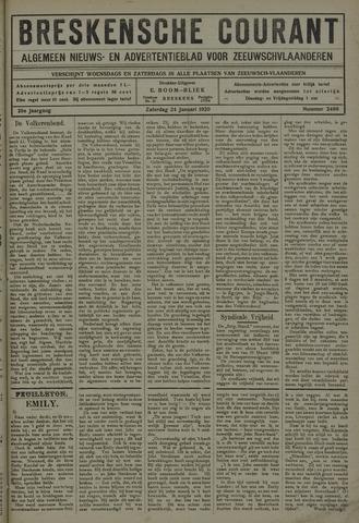 Breskensche Courant 1920-01-24