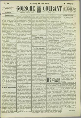 Goessche Courant 1932-07-11