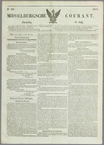 Middelburgsche Courant 1857-07-11