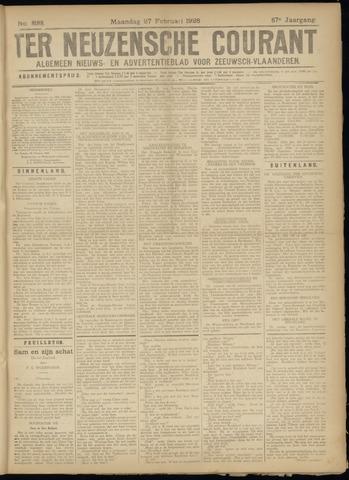 Ter Neuzensche Courant. Algemeen Nieuws- en Advertentieblad voor Zeeuwsch-Vlaanderen / Neuzensche Courant ... (idem) / (Algemeen) nieuws en advertentieblad voor Zeeuwsch-Vlaanderen 1928-02-27