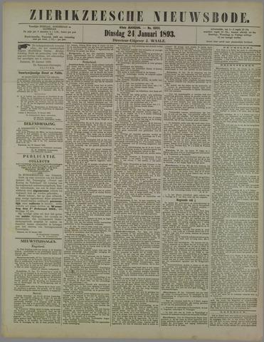 Zierikzeesche Nieuwsbode 1893-01-24