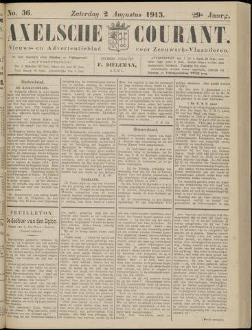 Axelsche Courant 1913-08-02