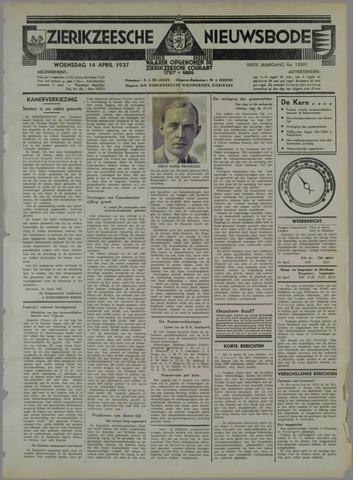Zierikzeesche Nieuwsbode 1937-04-14