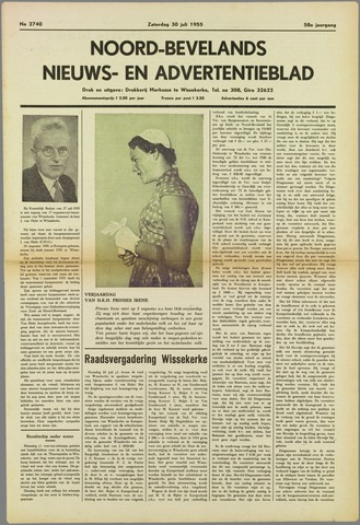 Noord-Bevelands Nieuws- en advertentieblad 1955-07-30