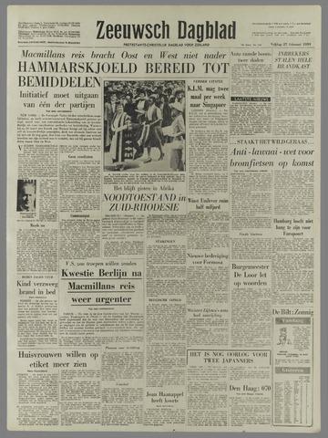 Zeeuwsch Dagblad 1959-02-27