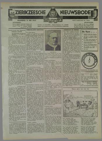 Zierikzeesche Nieuwsbode 1937-05-31