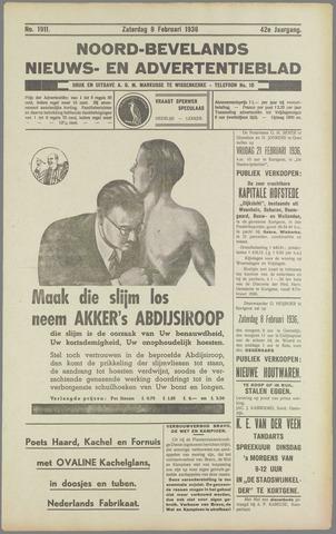 Noord-Bevelands Nieuws- en advertentieblad 1936-02-08