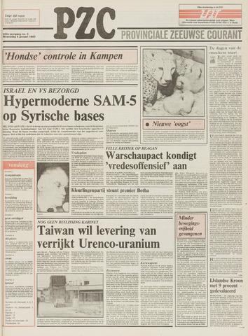 Provinciale Zeeuwse Courant 1983-01-05