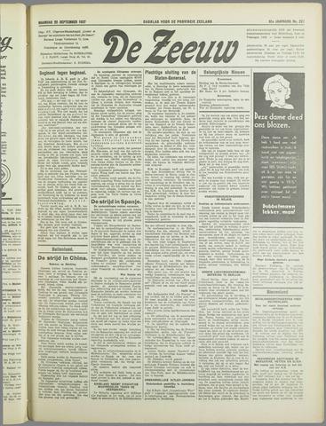 De Zeeuw. Christelijk-historisch nieuwsblad voor Zeeland 1937-09-20