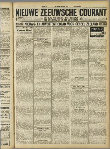 Nieuwe Zeeuwsche Courant 1927-04-23