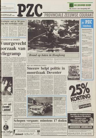 Provinciale Zeeuwse Courant 1986-12-27