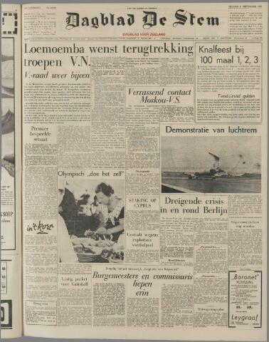 de Stem 1960-09-09