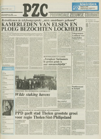 Provinciale Zeeuwse Courant 1976-09-02