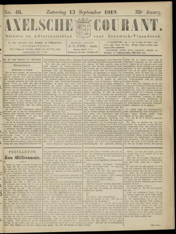 Axelsche Courant 1919-09-13
