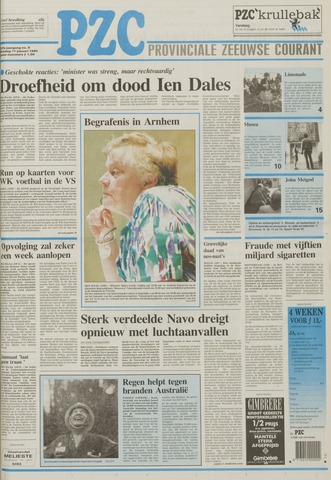 Provinciale Zeeuwse Courant 1994-01-11