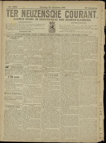 Ter Neuzensche Courant. Algemeen Nieuws- en Advertentieblad voor Zeeuwsch-Vlaanderen / Neuzensche Courant ... (idem) / (Algemeen) nieuws en advertentieblad voor Zeeuwsch-Vlaanderen 1919-12-30