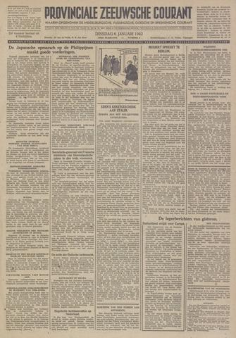 Provinciale Zeeuwse Courant 1942-01-06
