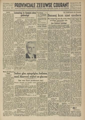 Provinciale Zeeuwse Courant 1948-02-28