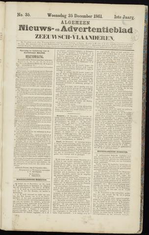 Ter Neuzensche Courant. Algemeen Nieuws- en Advertentieblad voor Zeeuwsch-Vlaanderen / Neuzensche Courant ... (idem) / (Algemeen) nieuws en advertentieblad voor Zeeuwsch-Vlaanderen 1861-12-25