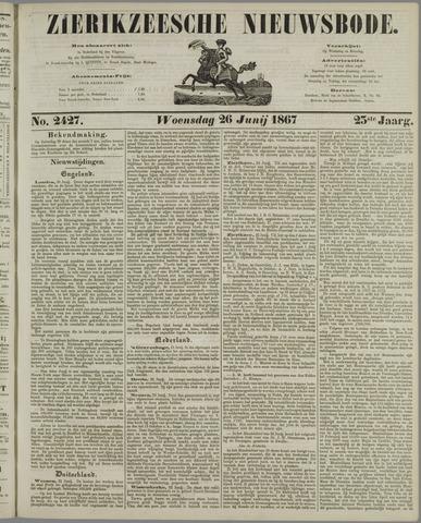 Zierikzeesche Nieuwsbode 1867-06-26