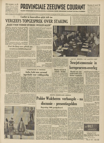 Provinciale Zeeuwse Courant 1960-03-21