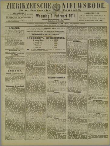 Zierikzeesche Nieuwsbode 1911-02-01