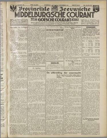 Middelburgsche Courant 1937-11-03