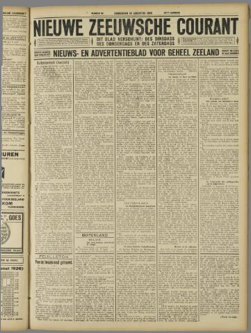 Nieuwe Zeeuwsche Courant 1926-08-19