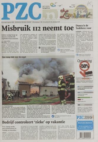 Provinciale Zeeuwse Courant 2008-08-06